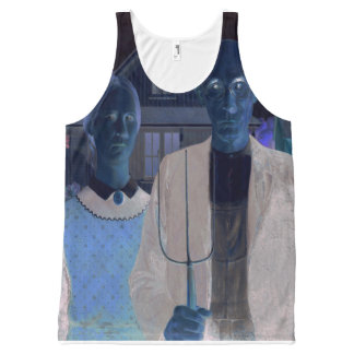 American Gothic REMIXED All-Over Print Tank Top