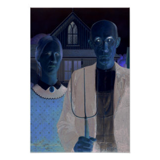 American Gothic REMIXED Poster