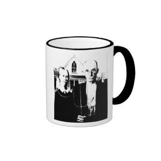 American Gothic Ringer Mug