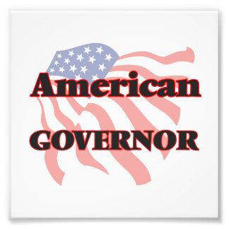 American Governor Photographic Print