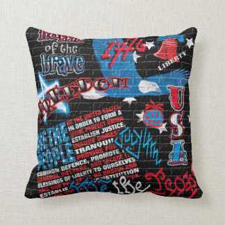American Graffiti Cushion