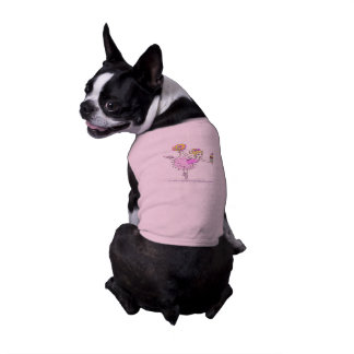 American Granny Ballerina Pet Sweater Sleeveless Dog Shirt