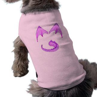 American Granny dragon Doggy Sweater Sleeveless Dog Shirt