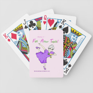 American Granny Fun After Tequila Playing Cards