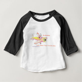 American Granny Looks Newer w/Plane Baby T-shirt
