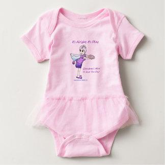 American Granny Super Grandma Baby Tutu Bodysuit