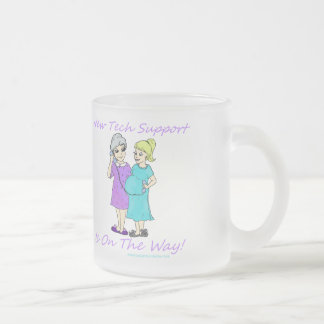 American Granny Tech Support Frosted Mug