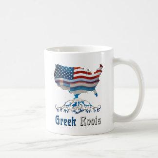 American Greek Roots Basic White Mug
