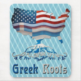 American Greek Roots Mousemat