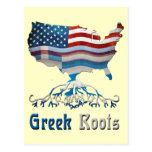 American Greek Roots Postcards