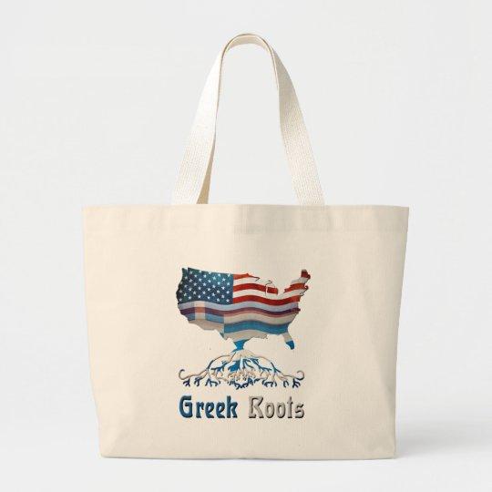 American Greek Roots Tote Bag