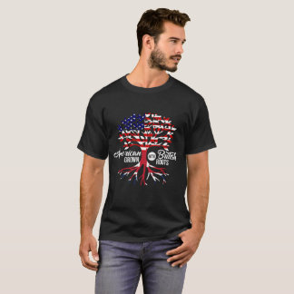 American Grown With British Roots T-Shirt