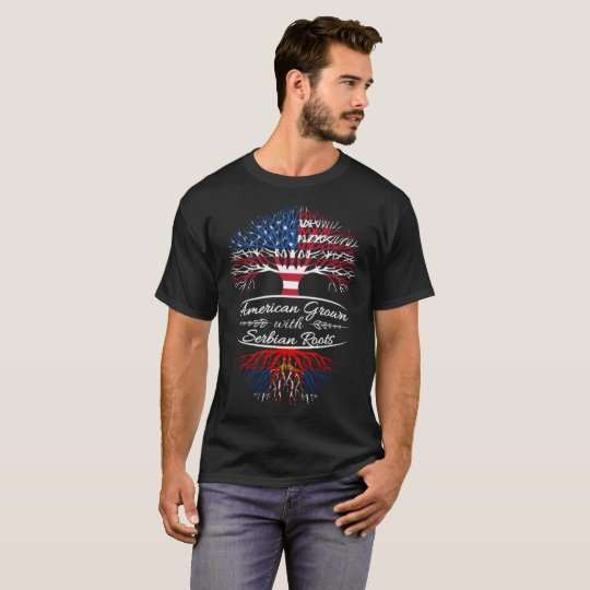 American Grown with Serbian Roots T-Shirt