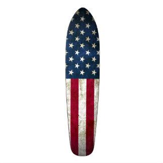 American Grunge Cruiser Custom Pro Long Board Skate Deck