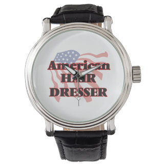 American Hair Dresser Wrist Watch
