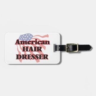American Hair Dresser Luggage Tag