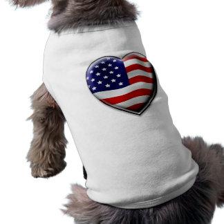 American Heart Dog T Shirt
