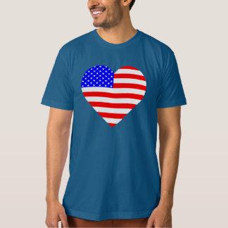 American heart flag shirt