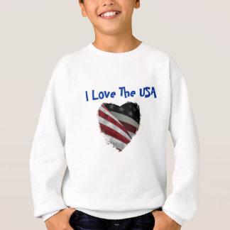 American Heart Flag Sweatshirt