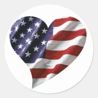 American Heart Stickers