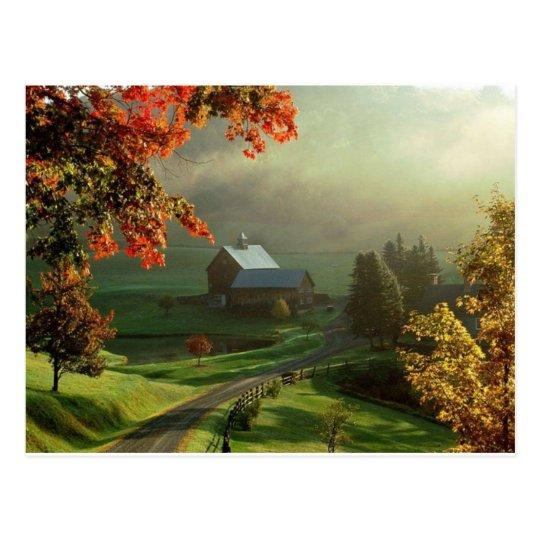 American Heartland Farm Postcard