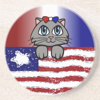 American Heartland Kitty Coaster