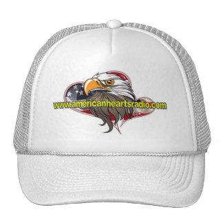 American Hearts Radio Hat