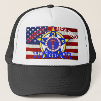 American Heathen Warrior--Police Trucker Hat