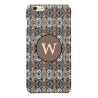 American Heritage Colors Pattern Design Glossy iPhone 6 Plus Case