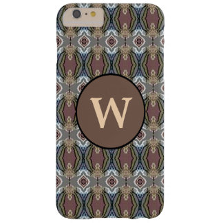 American Heritage Colors Pattern w/Monogram Barely There iPhone 6 Plus Case