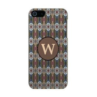 American Heritage Colors Pattern w/Monogram Incipio Feather® Shine iPhone 5 Case
