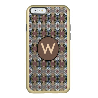 American Heritage Colors Pattern w/Monogram Incipio Feather® Shine iPhone 6 Case