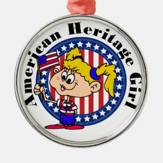 American Heritage Patriotic Christmas Ornament