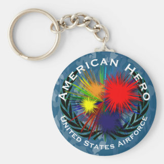 American hero key ring