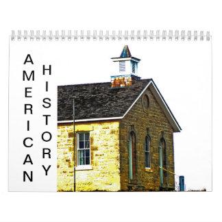 American History Calendar