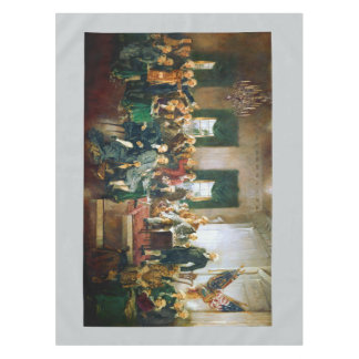 American History Classic Paintings Tablecloth