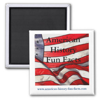 American History Fun Facts Magnet