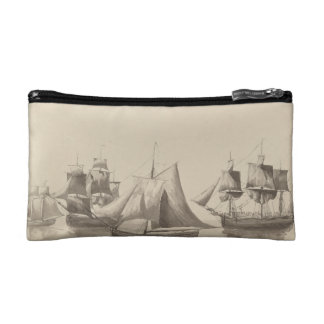 American History - Sailing from Halifax Makeup Bags