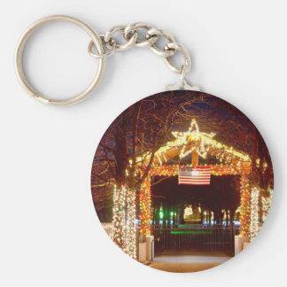 American Holiday Keychain