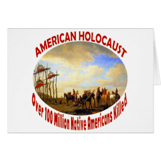 American Holocaust Greeting Card