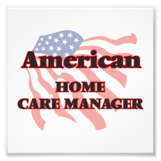 American Home Care Manager Photographic Print