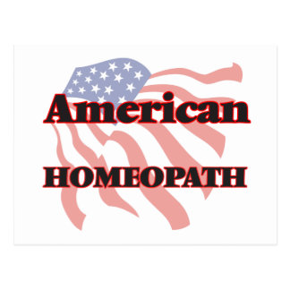 American Homeopath Postcard