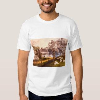 American Homestead Spring_Engravings Tee Shirts