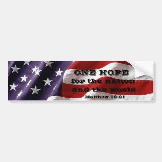 American hope bumper sticker