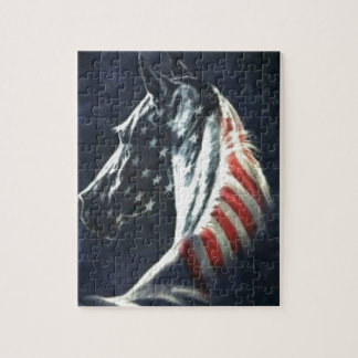 American Horse Jigsaw Puzzle