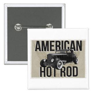 American Hot Rod - brown version Pin