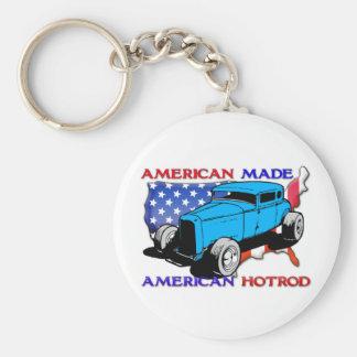 American Hotrod Chopped Key Chains