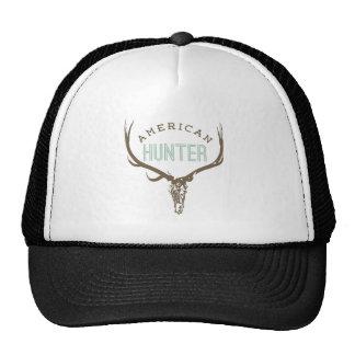 American Hunter - Skull with Rack deer / elk Cap