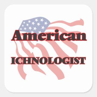 American Ichnologist Square Sticker