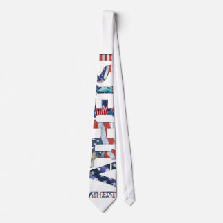American Icon Atheist Tie